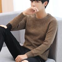 针织衫修身型套头男士毛衣冬季青年打底衫潮男