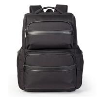 卡拉羊 新款商务双肩包男士15寸电脑包大容量休闲多功能防水背包5743