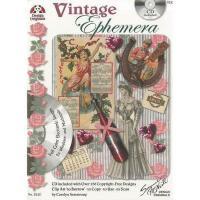 【预订】Vintage Ephemera W/CD: Full Color Electronic Images