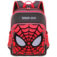 漫威 BA5149B蜘蛛侠小学生书包男 1-4年级儿童减负双肩背包 黑红当当自营