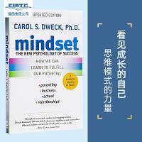 现货 英文原版 心态:成功的新心理学 Mindset: The New Psychology of Success(又