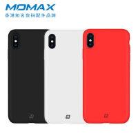 包邮支持礼品卡 Momax 摩米士 iPhone Xs Max 液态硅胶 手机壳 苹果 XR 纤薄 全包 防摔 保护套