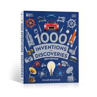 【全店300减100】英文原版进口图鉴/图解 1000项发明和发现 1000 Inventions and Discov