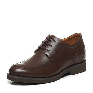 BATA/拔佳春季专柜同款牛皮内增高男鞋581-2AM6