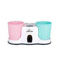 家居厨房日常生活卫生间用品用具家庭创意实用居家懒人神器小百货 【粉杯+蓝杯】