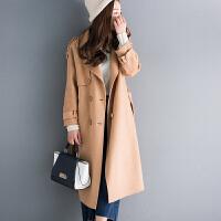 90%羊毛10%羊绒双面呢女士冬装厚实长款H型毛呢大衣外套L3/1/90