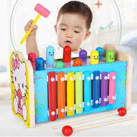 儿童玩具男孩小女孩1-2-3周岁6益智宝宝婴幼儿早教智力开发打地鼠