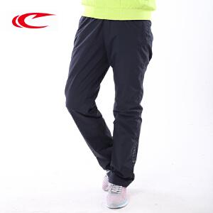 赛琪运动裤加厚保暖新款秋冬女士运动裤双层涤纶长裤防风防水