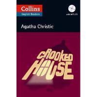 【现货】英文原版 阿加莎ELT读本(224页)+CD:怪屋 Collins ELT Reader: Crooked Ho