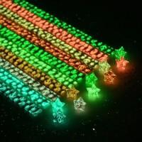 夜光星星折纸套装许愿星幸运星折叠折纸条荧光DIY创意礼品折星星纸礼物折五角星的星星纸学生手工纸材料