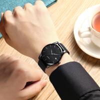 机械表时尚带简约男士手表潮新款概念学生男表