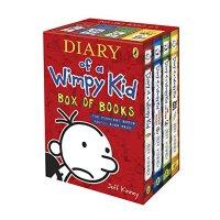 小屁孩日记 4本套装【现货】英文原版童书Diary of a Wimpy Kid Box of Books