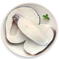 速鲜 新西兰进口新鲜冷冻银鳕鱼中段400g 宝宝孕妇辅食 海鲜水产