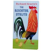 英文原版Richard Scarry's the Rooster Struts纸板书我是一只兔子同系列 I am a