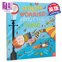【中商原版】Kate Hindley:Jeremy Worried About the Wind 杰米的担忧 附故事在线