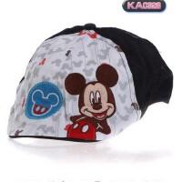 迪士尼正品童装鸭舌帽男童太阳帽儿童棒球帽子女童遮阳帽KA0326