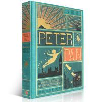 英文原版进口绘本 Peter Pan 彼得潘3D桥梁书小飞侠童书彩色立体书神奇的艺术观览图书童话故事儿童成长故事6-1