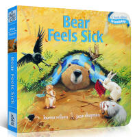 原版Bear Feels Sick The Bear Books 纸板书 吴敏兰绘本123