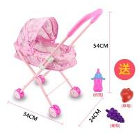 儿童玩具女孩过家家推车带娃娃女童宝宝购物车婴儿小手推车