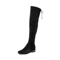 St&Sat/星期六秋冬瘦瘦靴低跟过膝长筒靴子SS84117723