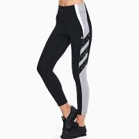 瑜伽裤女高腰弹力紧身裤运动裤女紧身裤女运动健身速干裤女 超薄透气夏季薄款跑步裤