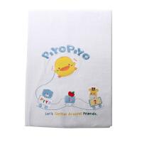 黄色小鸭 四方形双层纱布浴巾 新生儿棉柔洗澡巾儿童婴儿吸水浴巾
