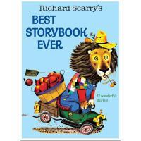 【现货】英文原版 Richard Scarry's Best Story Book Ever 理查德斯凯瑞金色童书(精装