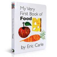 英文原版进口儿童绘本 My Very First Book of Food 3-6岁儿童启蒙食品连连看纸板书