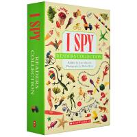 英文原版绘本 I Spy Reader Collection 13册 视觉大发现 智力开发 手眼协调 英文单字词汇学习