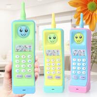 0-3岁 儿童电话玩具大哥大音乐仿真座机手机