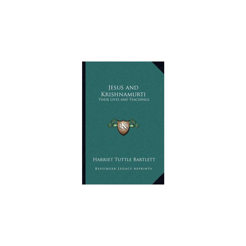 【预订】Jesus and Krishnamurti: Their Lives and Teachings 预订商品,需要1-3个月发货,非质量问题不接受退换货。