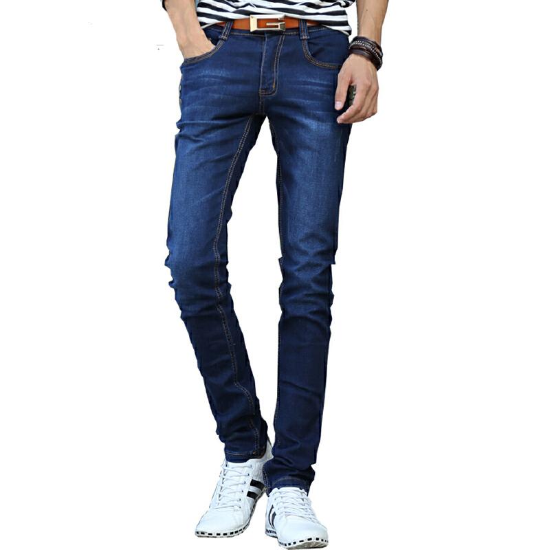 1号牛仔  男士新款时尚修身牛仔裤男长裤