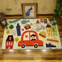 卡通儿童地毯客厅儿童房间地毯卧室满铺榻榻米床边毯长方形爬行垫
