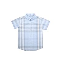 网易严选 格纹棉质短袖衬衫(婴童)