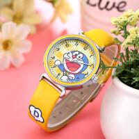 防水儿童表可爱叮当猫哆啦A梦小卡通手表超萌小男孩石英表