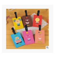 陆捌壹肆韩国可爱立体卡片包 银行卡通卡套 行李箱卡套 公交卡套卡夹  1个装