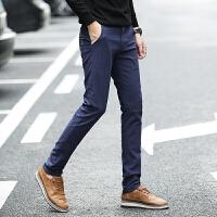 新款2018男士裤子夏季春夏男装休闲裤青少年学生裤力男士潮流