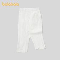 【券后预估价:42.8】巴拉巴拉女童裤子夏装儿童休闲裤女大童童装七分裤洋气潮