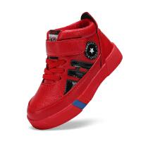 春新款韩版儿童运动鞋男童板鞋中帮休闲鞋大童跑步鞋女童鞋子