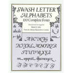【全新直发】Swash Letter Alphabets (【按需印刷】) Dan X. Solo 978048629