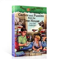 【全店300减100】英文原版 Games and Puzzles from the magic Tree House神