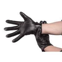 手套男保暖加绒加厚男士绵羊皮手套防寒情侣女士皮手套短款