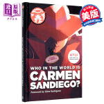 【中商原版】谁是神偷卡门 英文原版 Who in the World Is Carmen Sandiego? Rebe