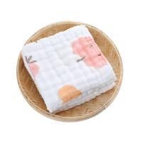 特兰斯六层水洗纱布精梳方巾毛巾浴巾TLSS068