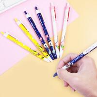 晨光 QBP46417 圆珠笔蓝色0.5MM小清新学生用海绵宝宝卡通创意油笔原子笔