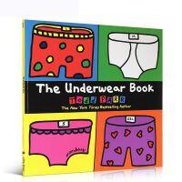 【全店300减100】英文原版绘本The Underwear Book 内衣 Todd Parr 儿童认知启蒙书