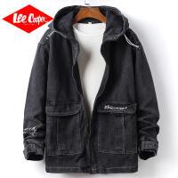 Lee Cooper男工装夹克复古宽松连帽外套秋装新款上衣ins潮流外穿男士外套