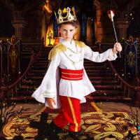 万圣节儿童男童国王 王子服装cosplay幼儿园衣服化妆舞会演出礼服