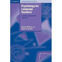 【预订】Psychology for Language Teachers: A Social