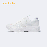 【3件4.5折:103.5】巴拉巴拉官方童鞋女运动鞋网面透气大童舒适时尚2021新款夏季鞋子